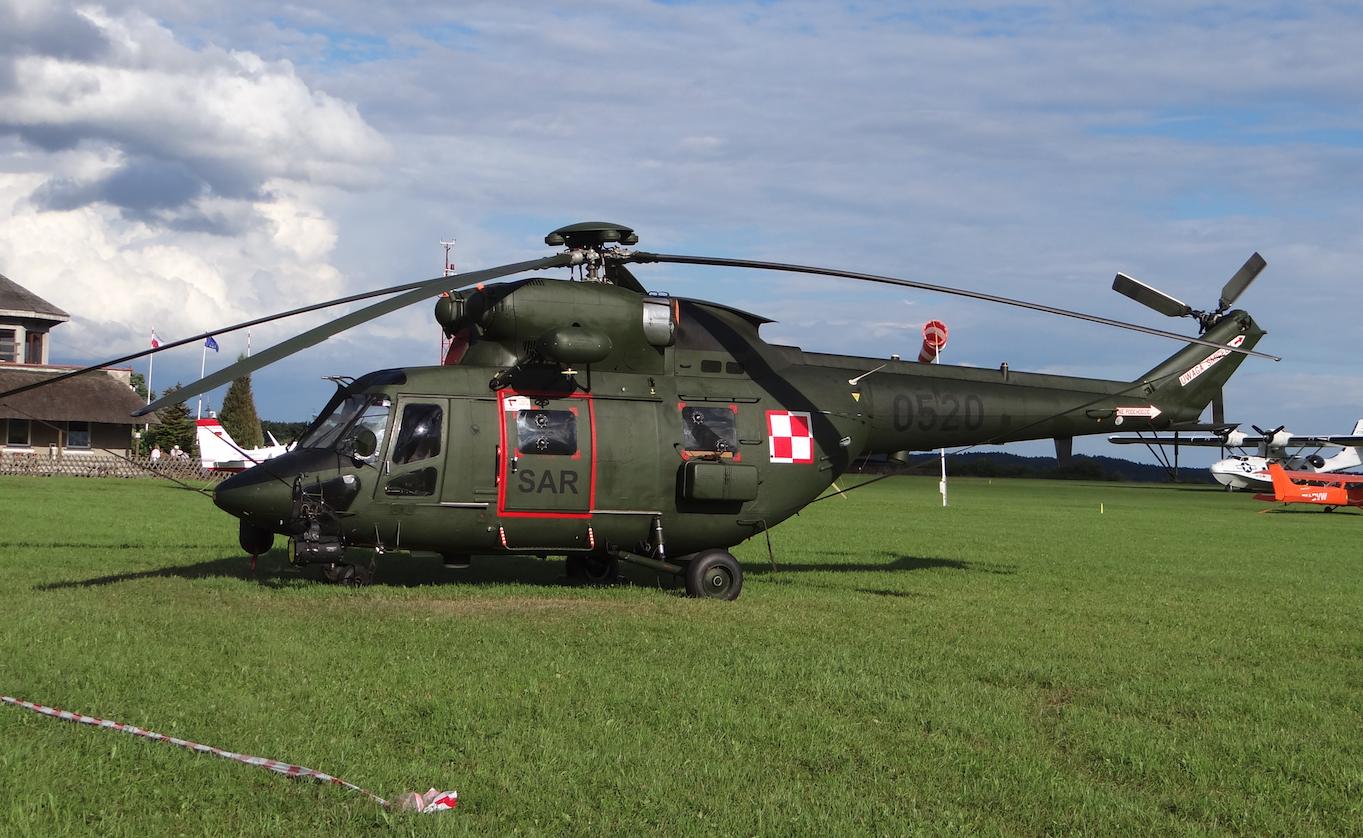 PZL W-3 Sokół nb 0520, wersja SAR. 2018 rok. Zdjęcie Karol Placha Hetman