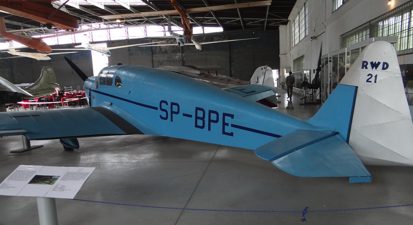RWD-21 SP-BPE. 2017 rok. Zdjęcie Karol Placha Hetman