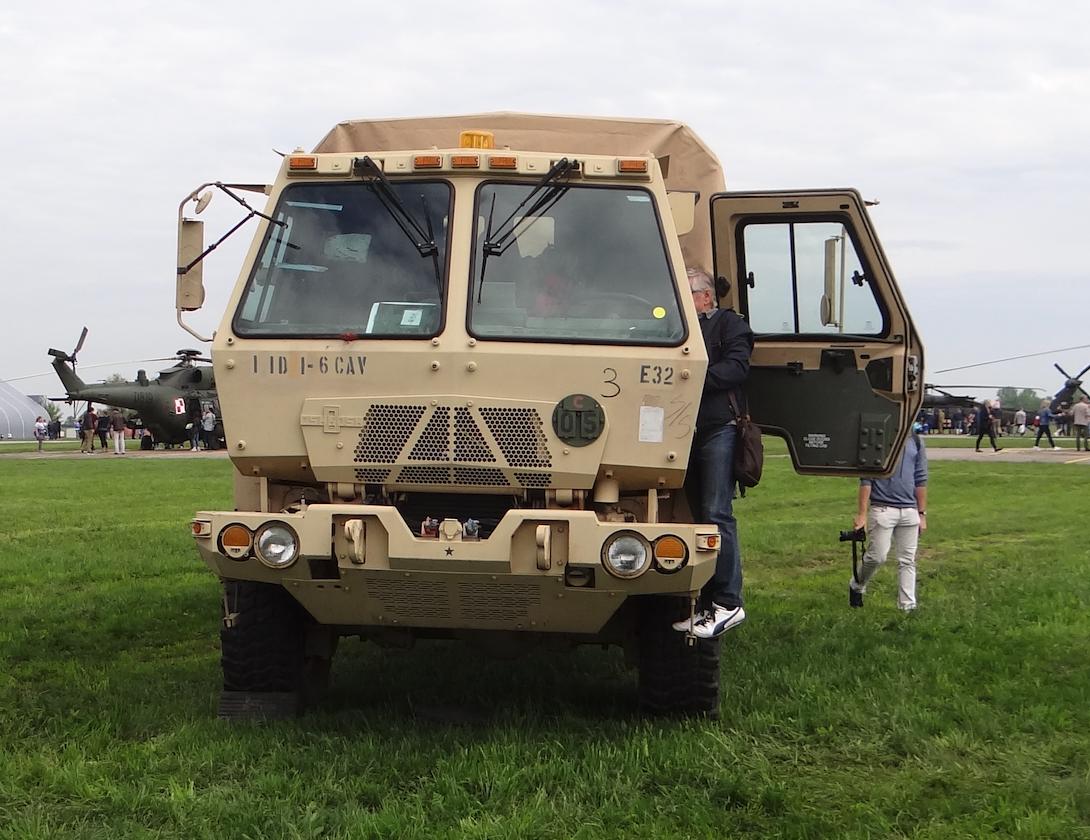 US Army car. Inowrocław 2019. Photo Karol Placha Hetman