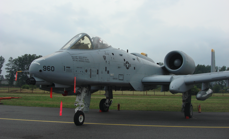 Fairchild A-10 nb 960. 2009 rok. Zdjęcie Karol Placha Hetman