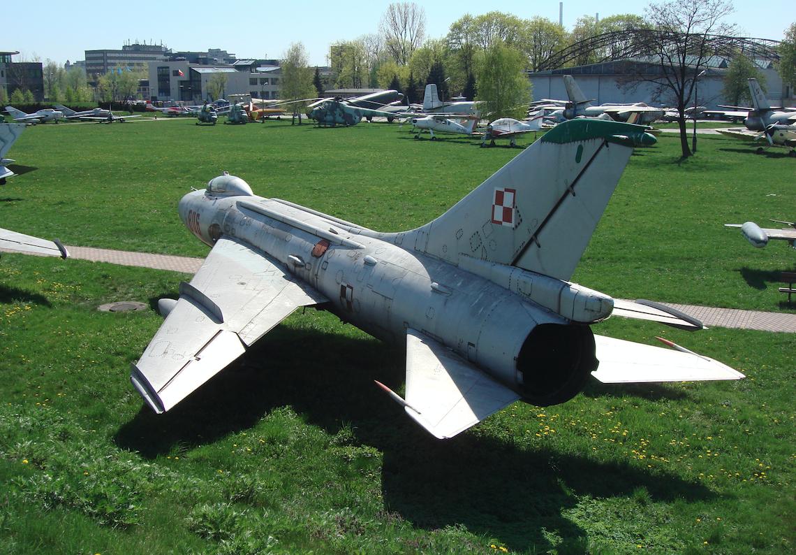 Su-7 BKŁ nb 806 nr 7806. 2009 rok. Zdjęcie Karol Placha Hetman
