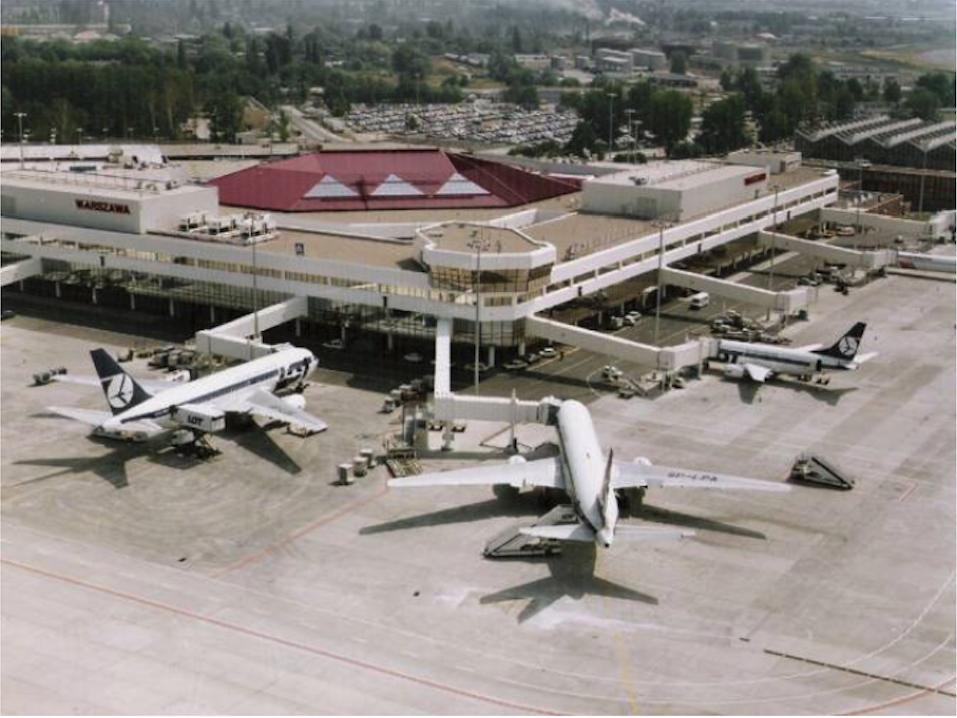 Okęcie 1997 rok. Zdjęcie LAC