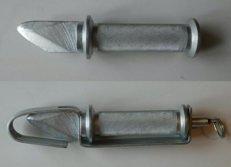 Samolotowy nóż-młotek. Zdjęcie Marek Kaiper