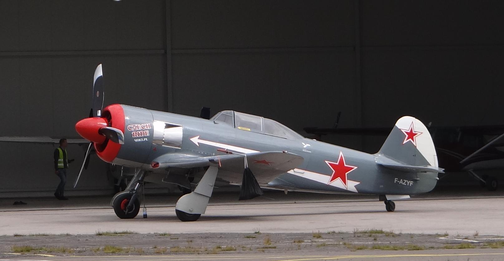 Jak-3 U F-AZYF. 2018 rok.Zdjęcie Karol Placha Hetman