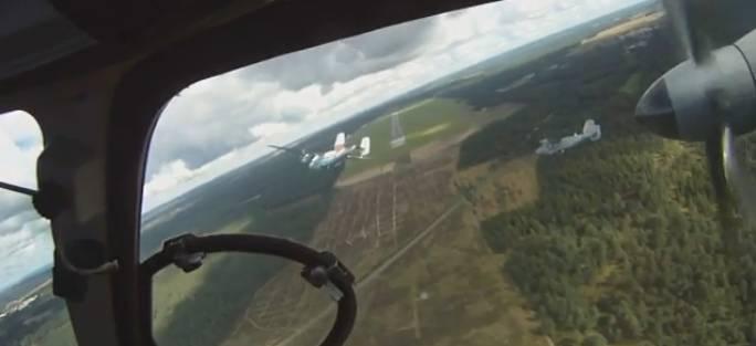 Siemirowice Lotnisko i samoloty M-28 Bryza. 2009r.
