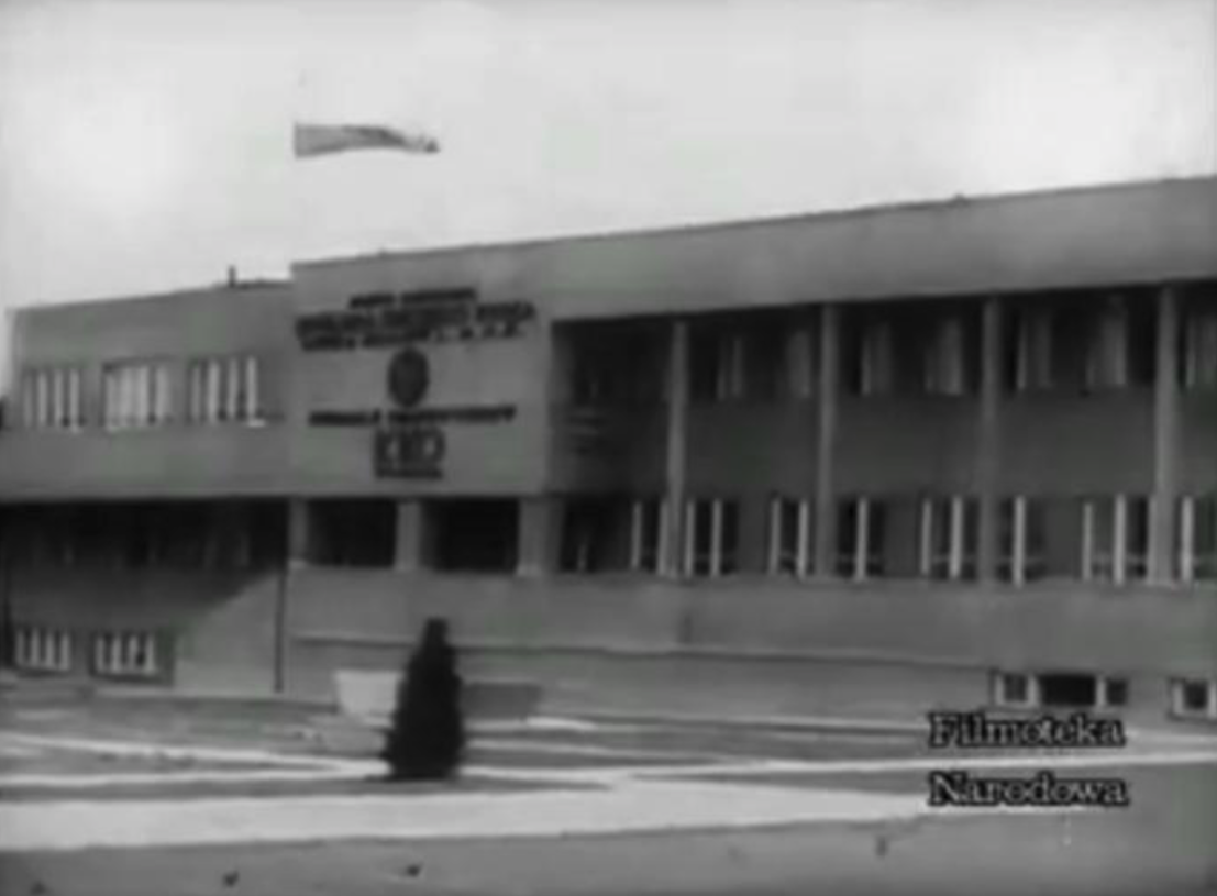 Completed modern administration and boarding house. Świdnik 1939.