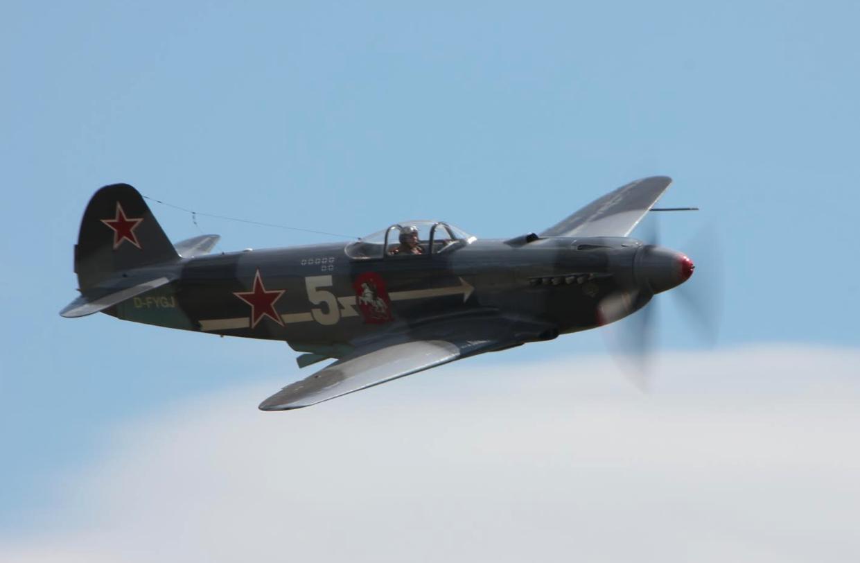 Jak-3 M Maciej Kubrak. Nowy Targ 2019 rok. Zdjęcie Waldemar Kiebzak