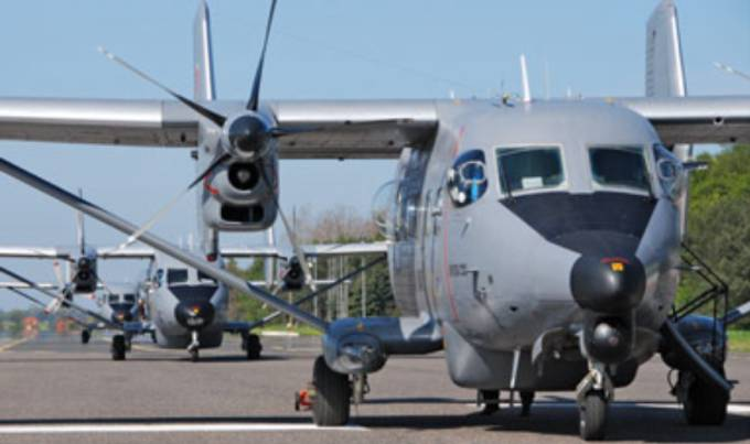 M-28 na Lotnisku Siemirowice. 2008r.