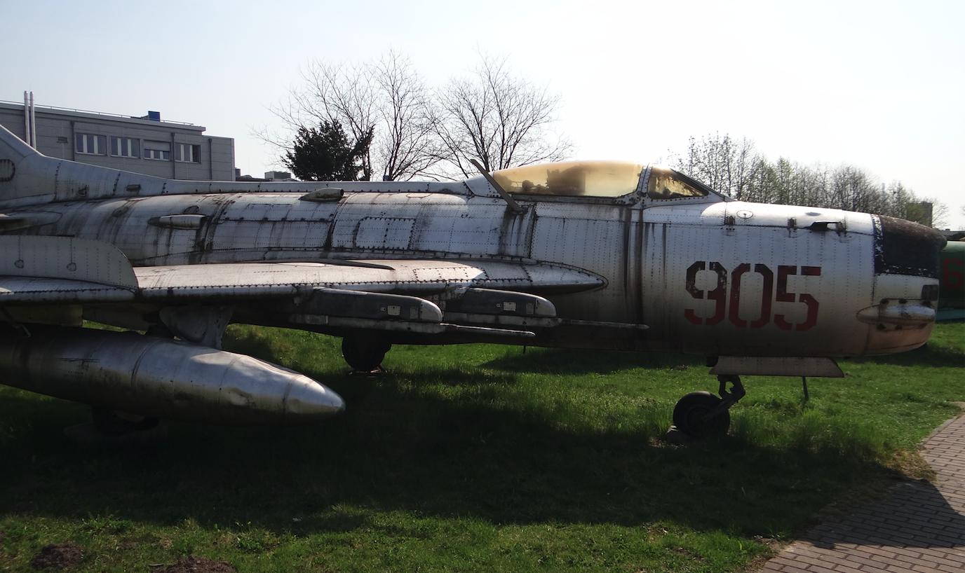 MiG-19 PM nb 905. Czyżyny 2019 rok. Zdjęcie Karol Placha Hetman