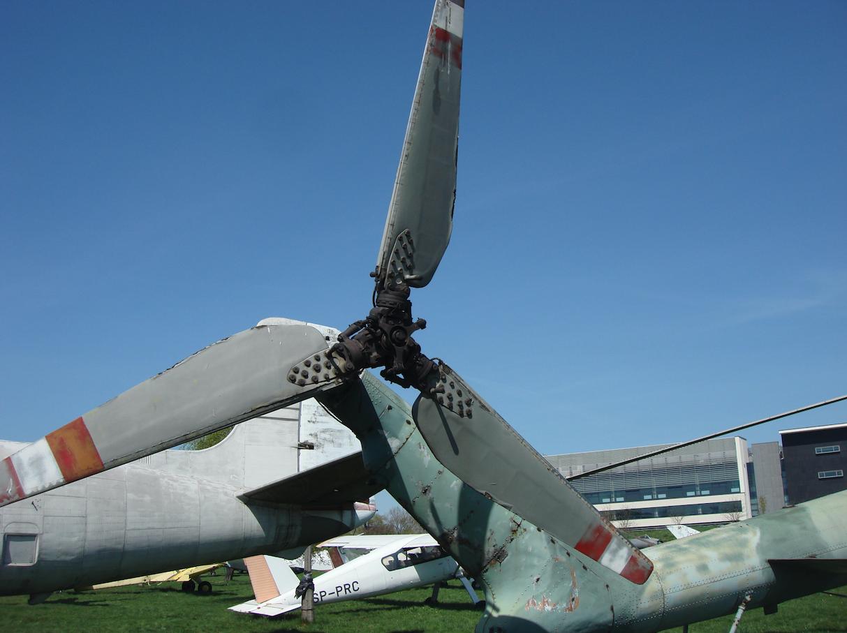 Mi-4 A nb 511. Śmigło ogonowe. 2009 rok. Zdjęcie Karol Placha Hetman