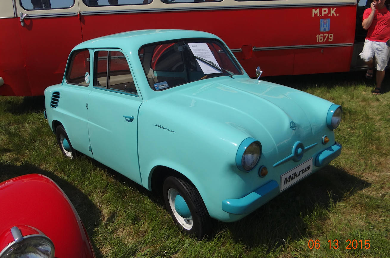Samochód WSK Mikrus MR-300. Zdjęcie Karol Placha Hetman