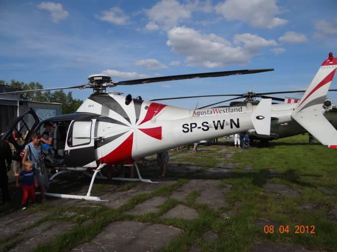 SW-4 Puszczyk rejestracja SP-SWN na Lotnisku Wilamowo 2012r.