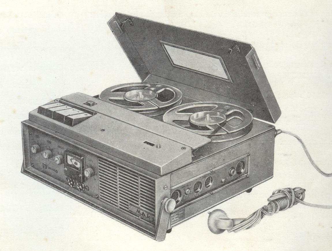 Magnetofon MAK-S zdjęcie z instrukcji