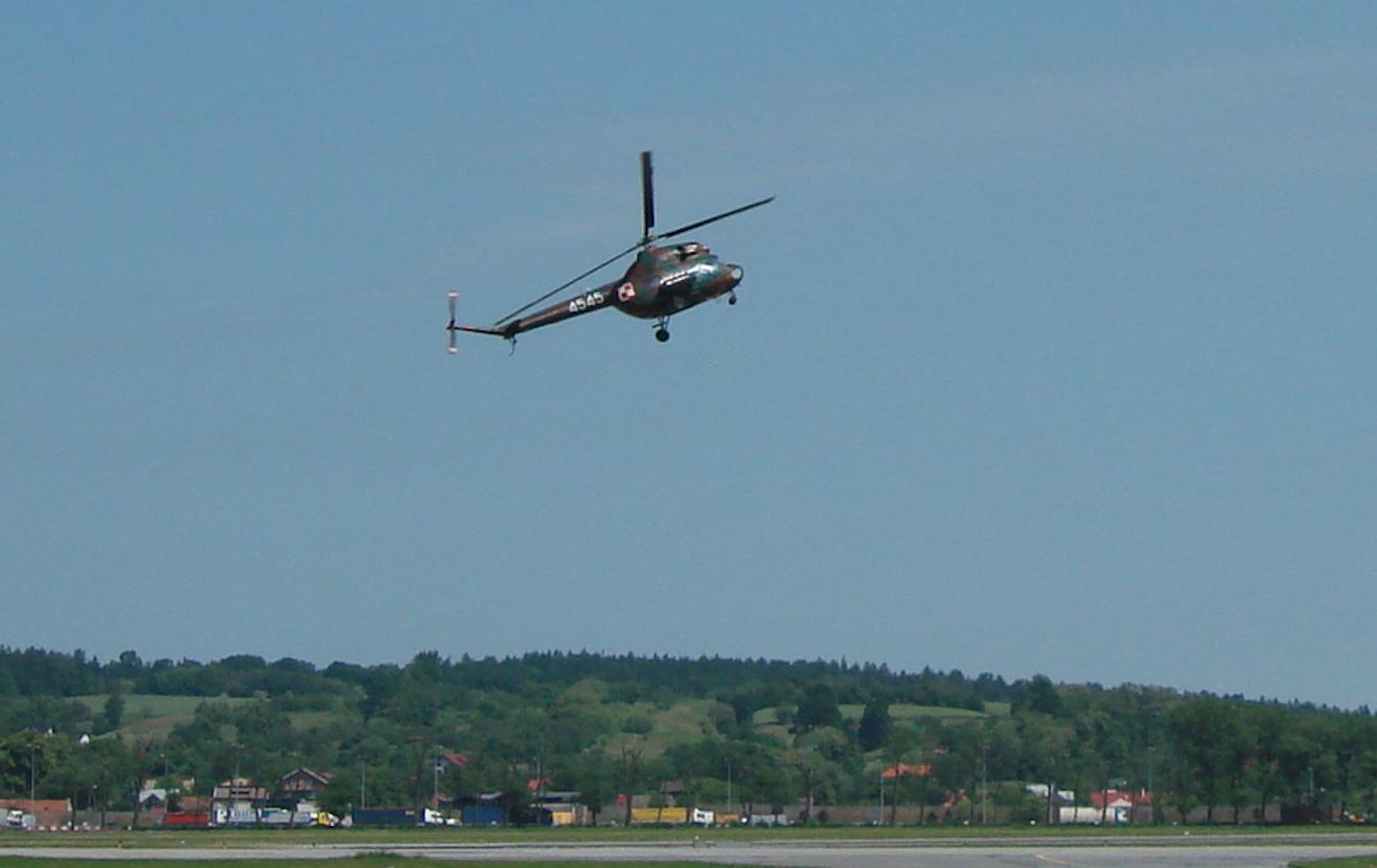 Mi-2 nb 4545, Grupy Poszukiwawczo-Ratowniczej. 2008 rok. Zdjęcie Karol Placha Hetman