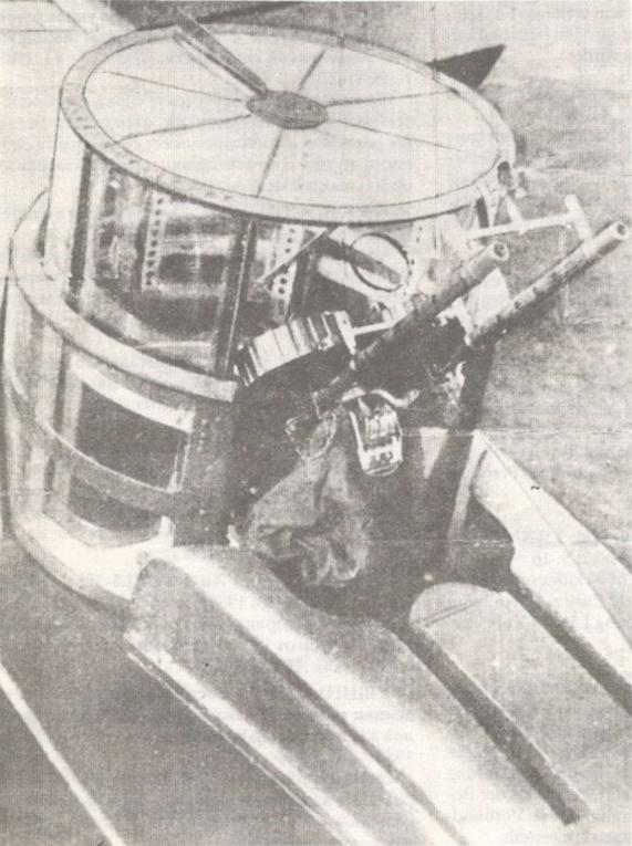 LWS-6. Wieżyczka z uzbrojeniem. Zdjęcie LAC