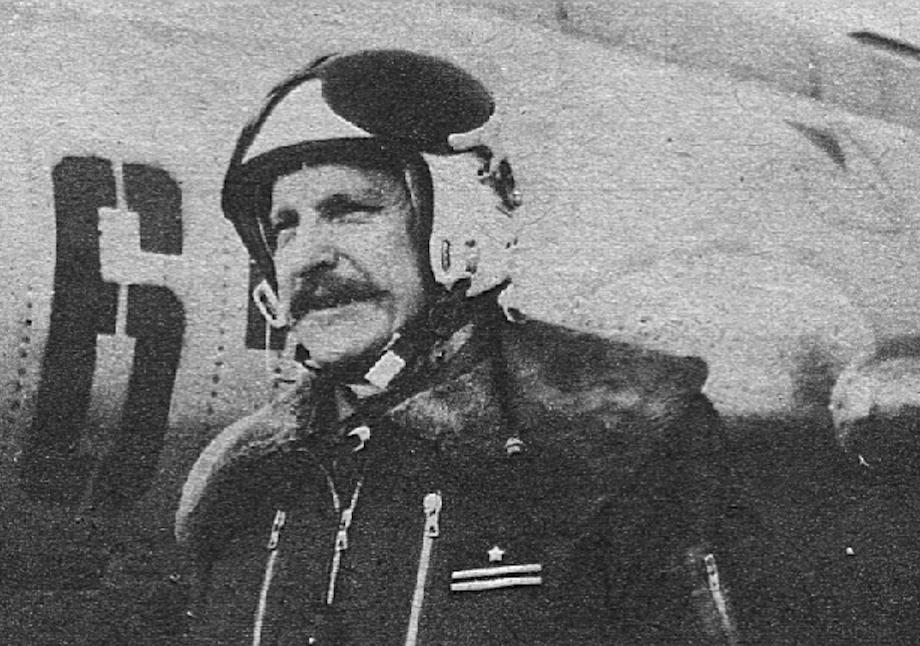 Pilot Su-20 major Krzysztof Ryniecki. 1987. Photo by LAC