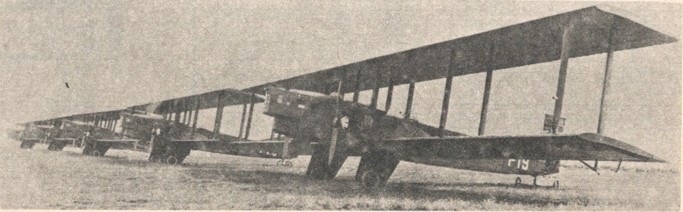 Delivery of the first Farman F.68 Goliath aircraft to Poland. 1926. Photo of LAC