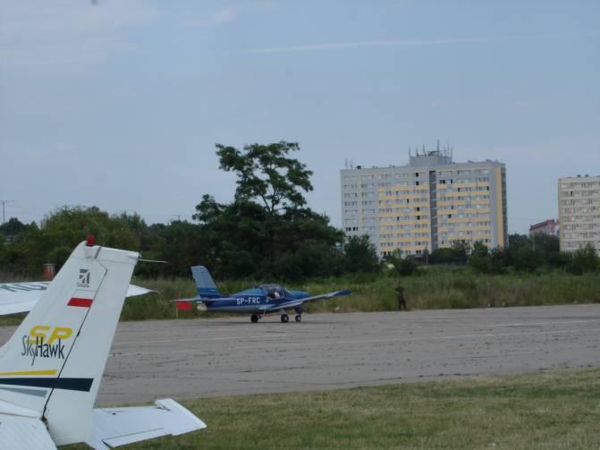 Samoloty na DS. w Czyżynach. 2008r.