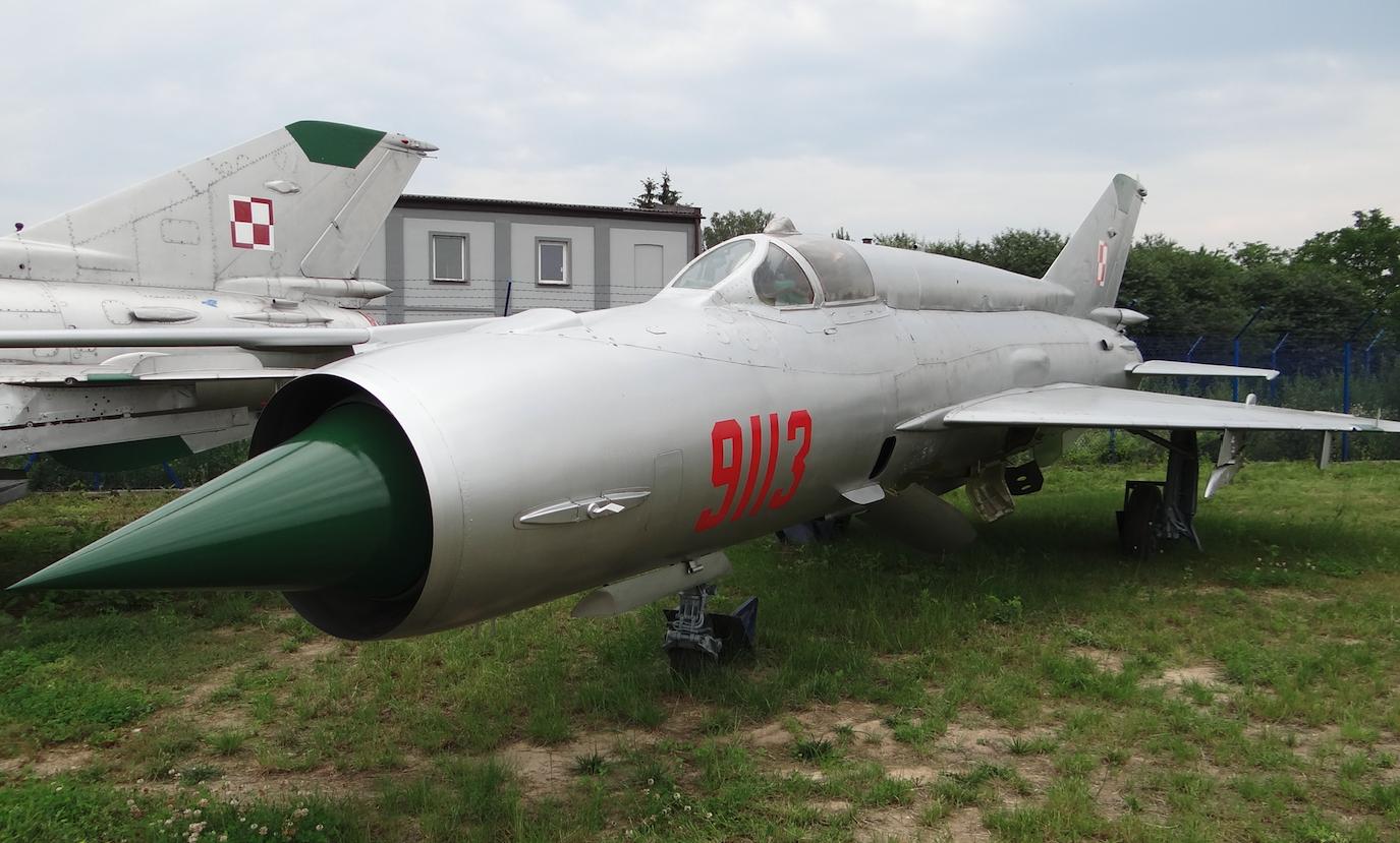 MiG-21 MF nb 9113. 2012. Photo by Karol Placha Hetman