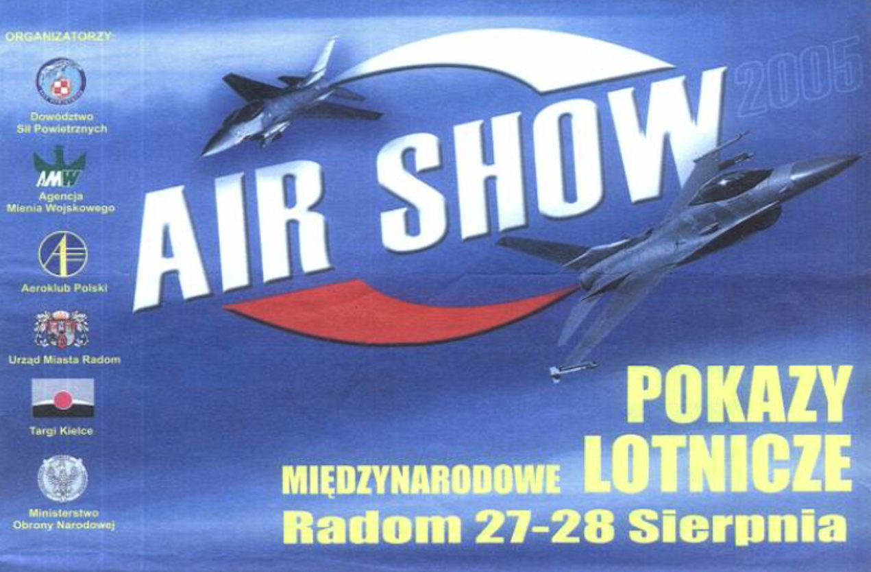 Plakat reklamowy. 2005 rok. Zdjęcie Karol Placha Hetman