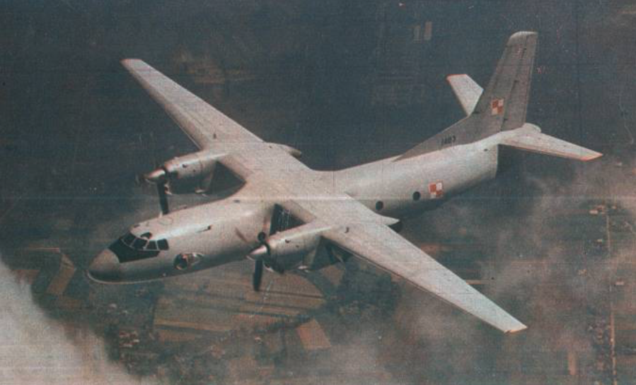 An-26 nb 1407 in typical painting 70-90 years. 1989. Photo of LAC