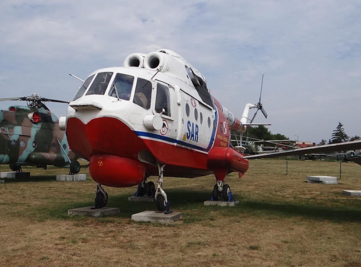 Mi-14 PS SAR nb 5137. 2017 rok. Zdjęcie Karol Placha Hetman