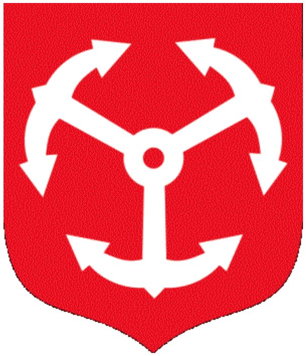 Herb miasta Brzeg. Zdjęcie LAC
