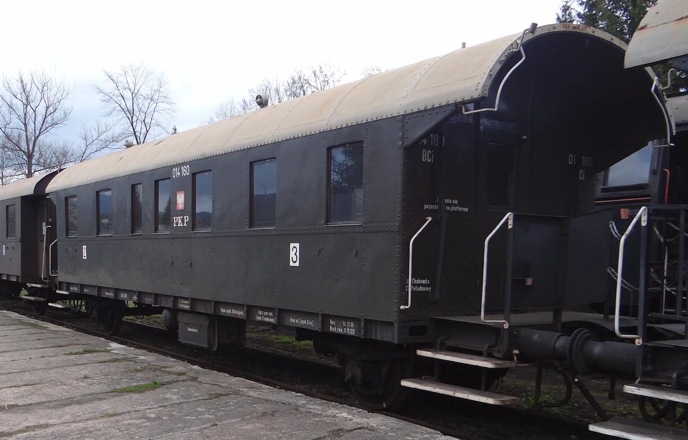 Wagon BCi nr 014160 klasy 2/3. 2021 rok. Zdjęcie Karol Placha Hetman