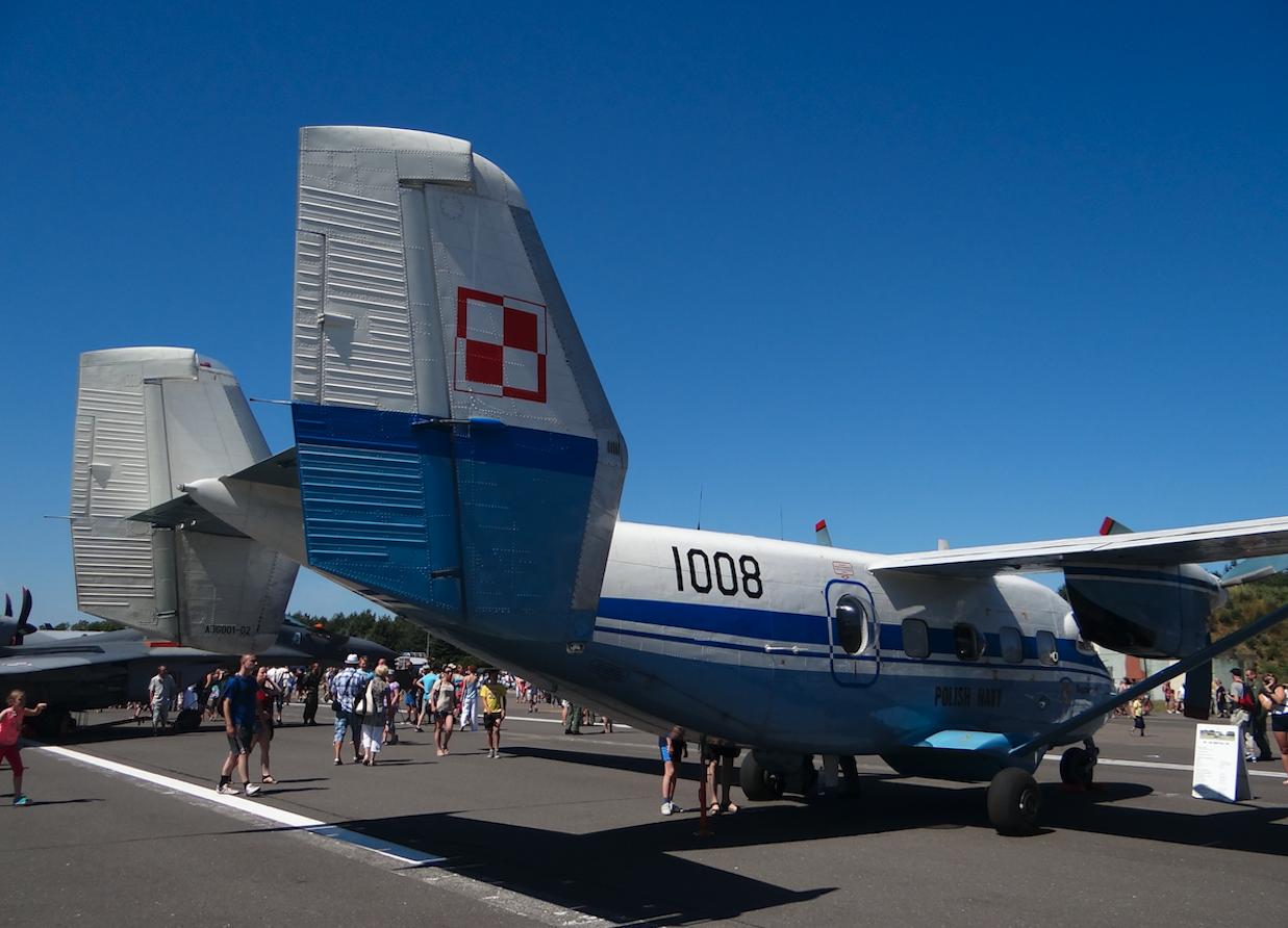 PZL M-28 Bryza Nb 1008. 2014 rok. Zdjęcie Karol Placha Hetman