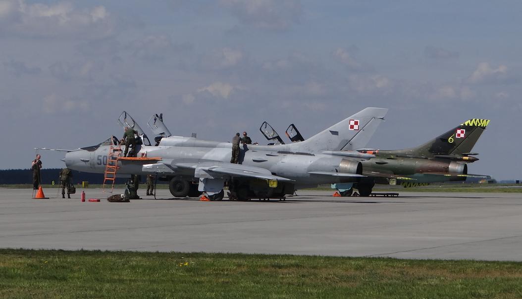 Su-22 UM 3 K nb 509, 707. 2017 rok. Zdjęcie Karol Placha Hetman