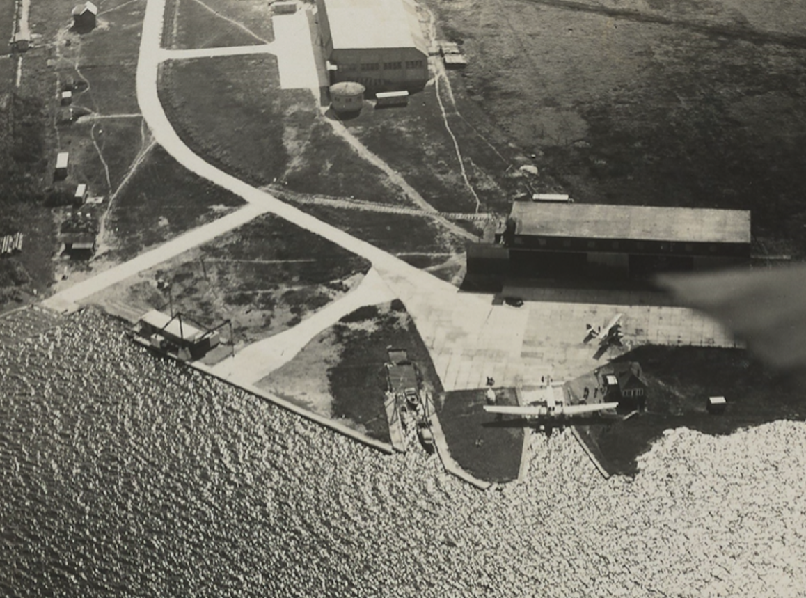 Base in Puck. 1930 year. Photo of LAC