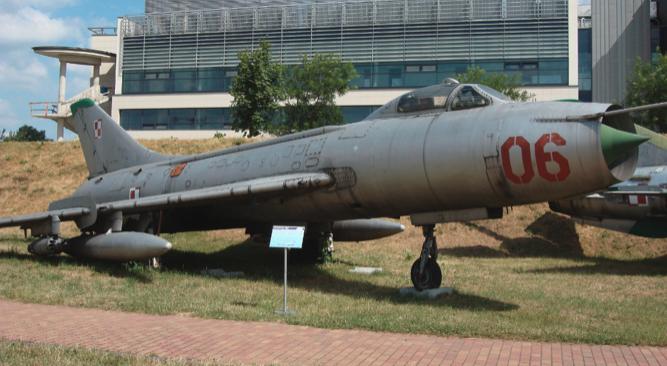 Su-7 BM nb 06. Czyżyny 2009. Photo by Karol Placha Hetman