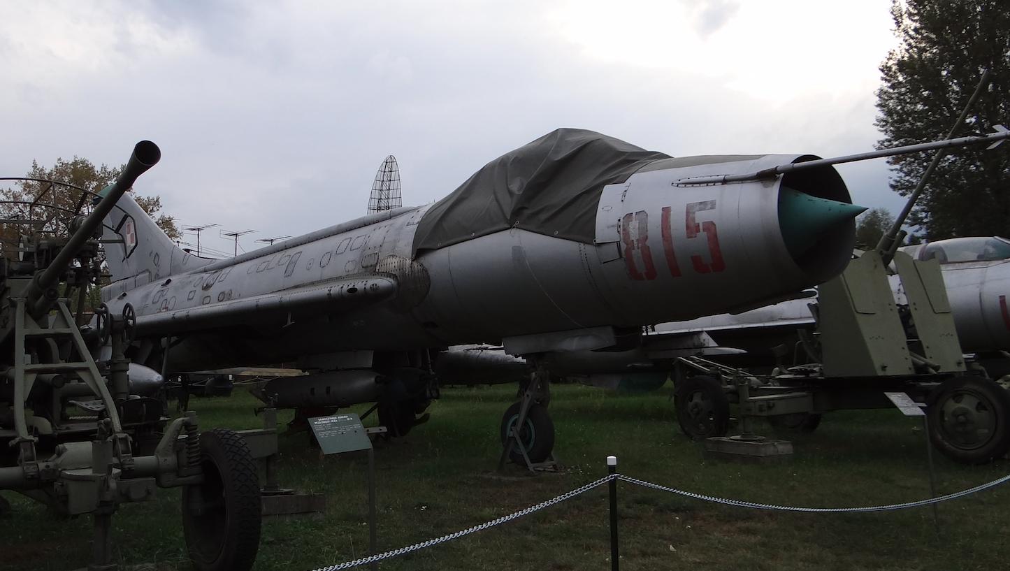 Su-7 BKŁ nb 815 nr 7815. 2012 rok. Zdjęcie Karol Placha Hetman