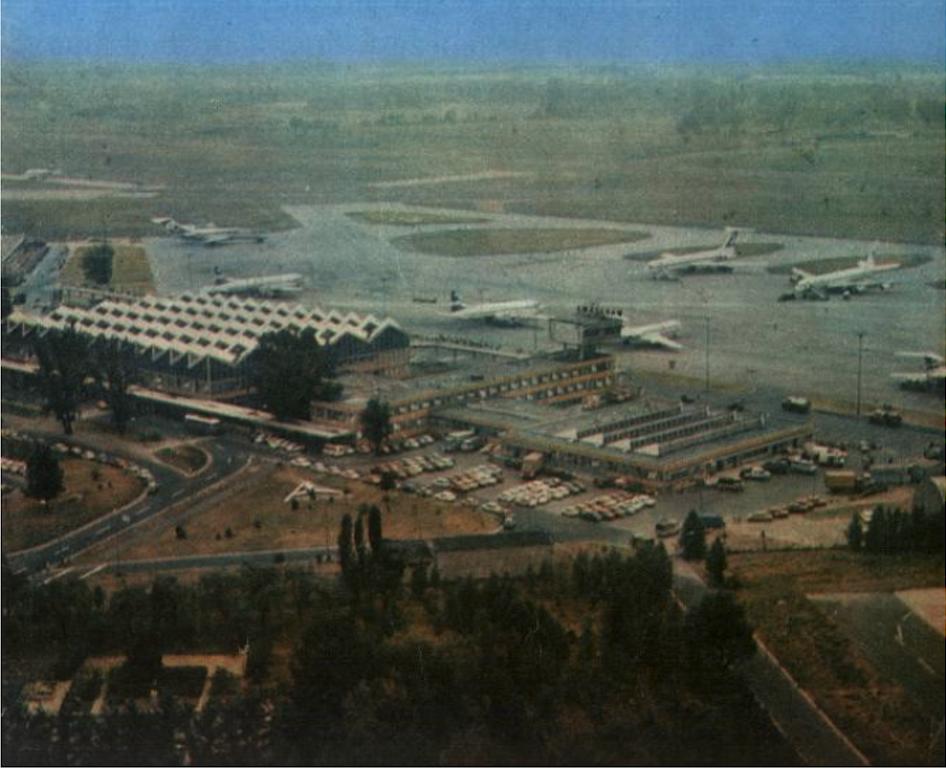 Okęcie 1977 year. Photo of LAC