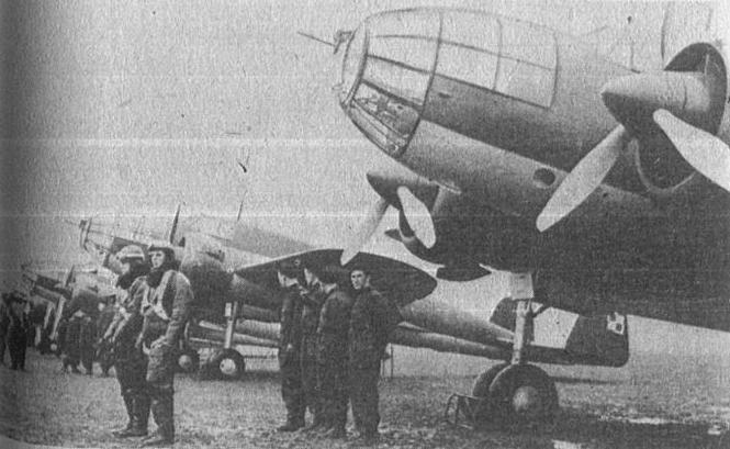 PZL-37 Łoś 211 Squadrons. Okecie airport. March 19, 1939. Photo of LAC