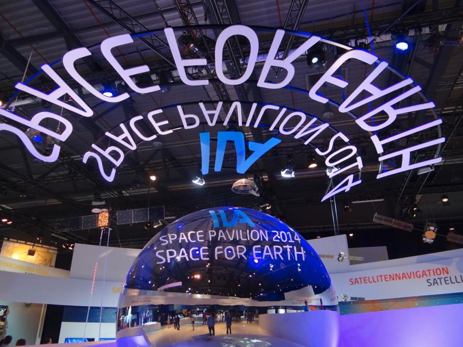 ILA Cosmonautics Pavilion - Space for Earth. 2014 year. Photo by Karol Placha Hetman