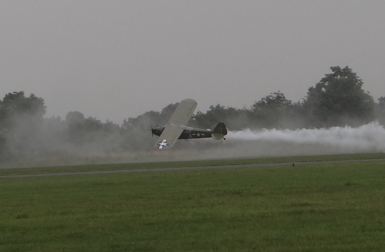 Piper J-3 / L-4 Cub. 2021 rok. Zdjęcie Karol Placha Hetman
