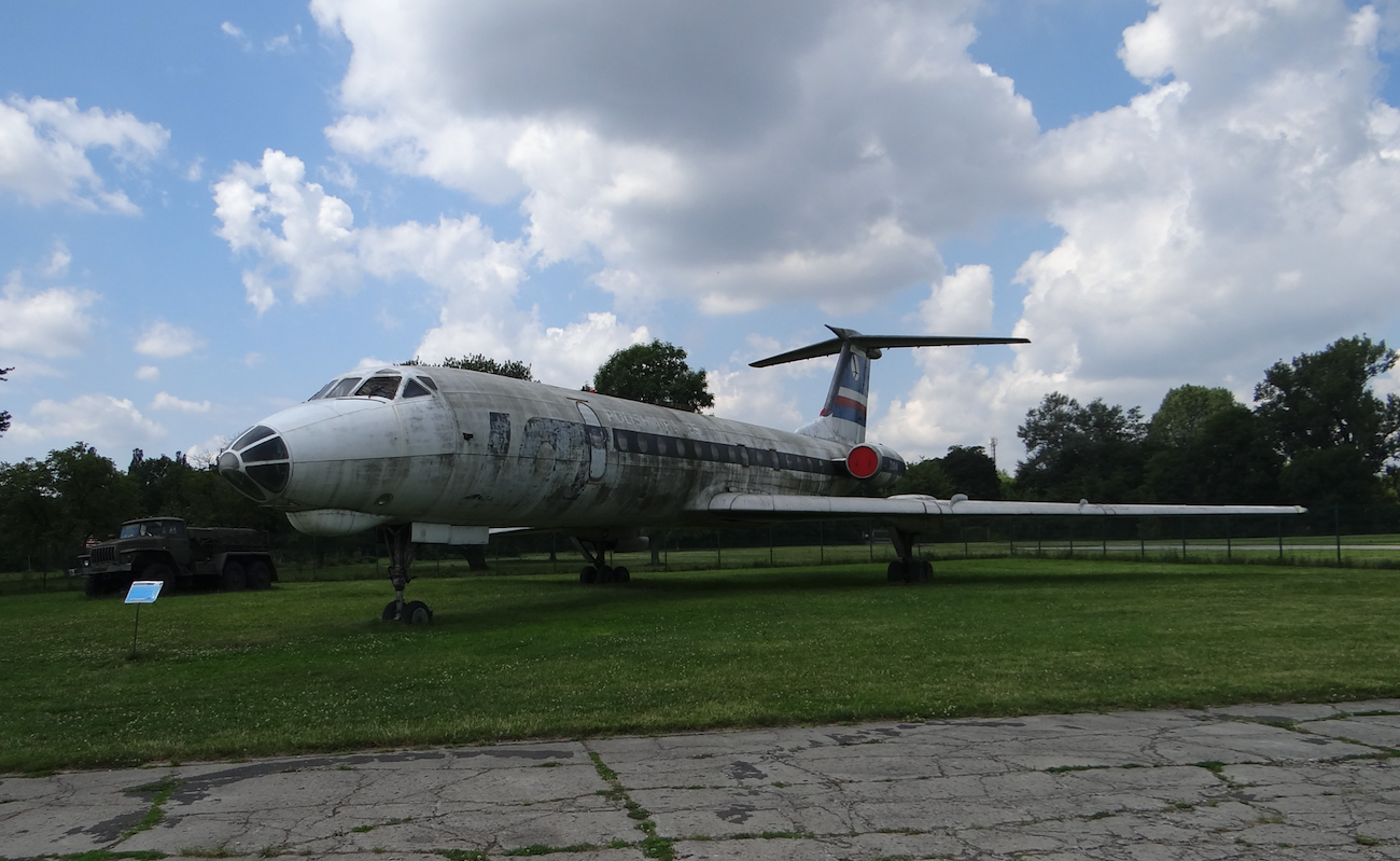 Tu-134 A SP-LHB at the Polish Aviation Museum in Krakow. 2017. Photo by Karol Placha Hetman