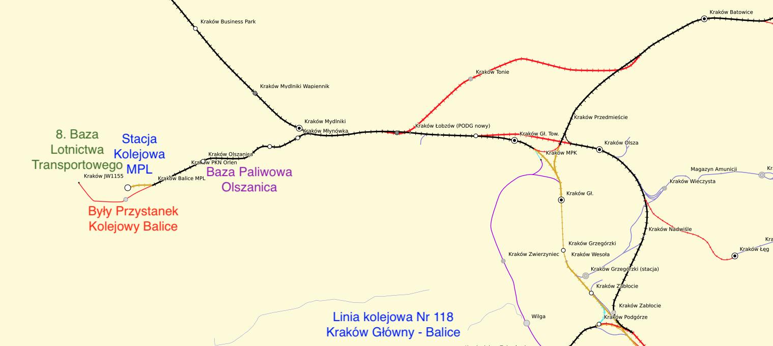 Linia kolejowa Nr 118. 2021 rok. Praca Karol Placha Hetman