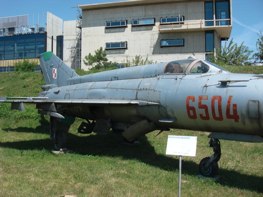 MiG-21 MF nb 6504. 2007 rok. Zdjęcie Karol Placha Hetman