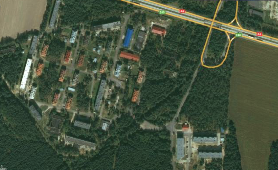 Osiedle mieszkaniowe Krzywa. 2010 rok. Zdjęcie LAC