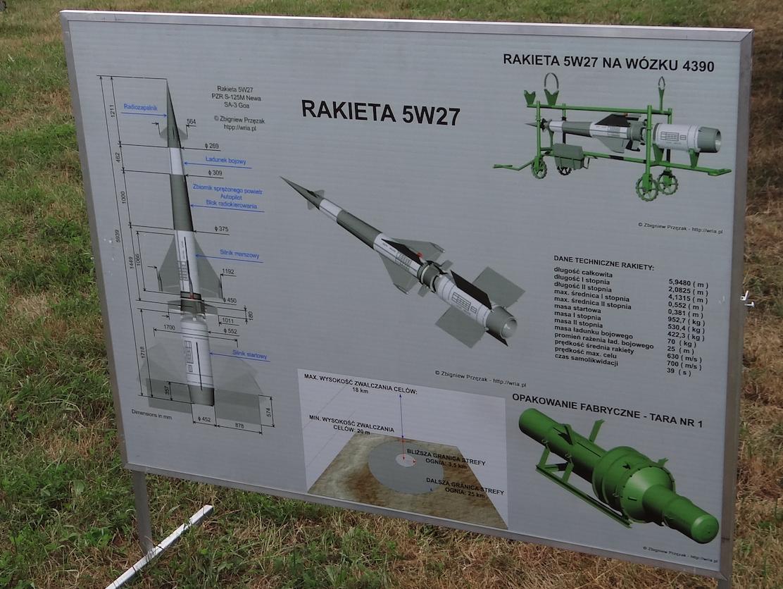 Pocisk rakietowy 5W27. 2013 rok. Zdjęcie Karol Placha Hetman