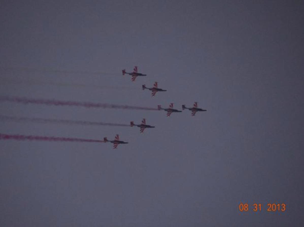 Biało-Czerwone Iskry. 2013 rok. Zdjęcie Karol Placha Hetman
