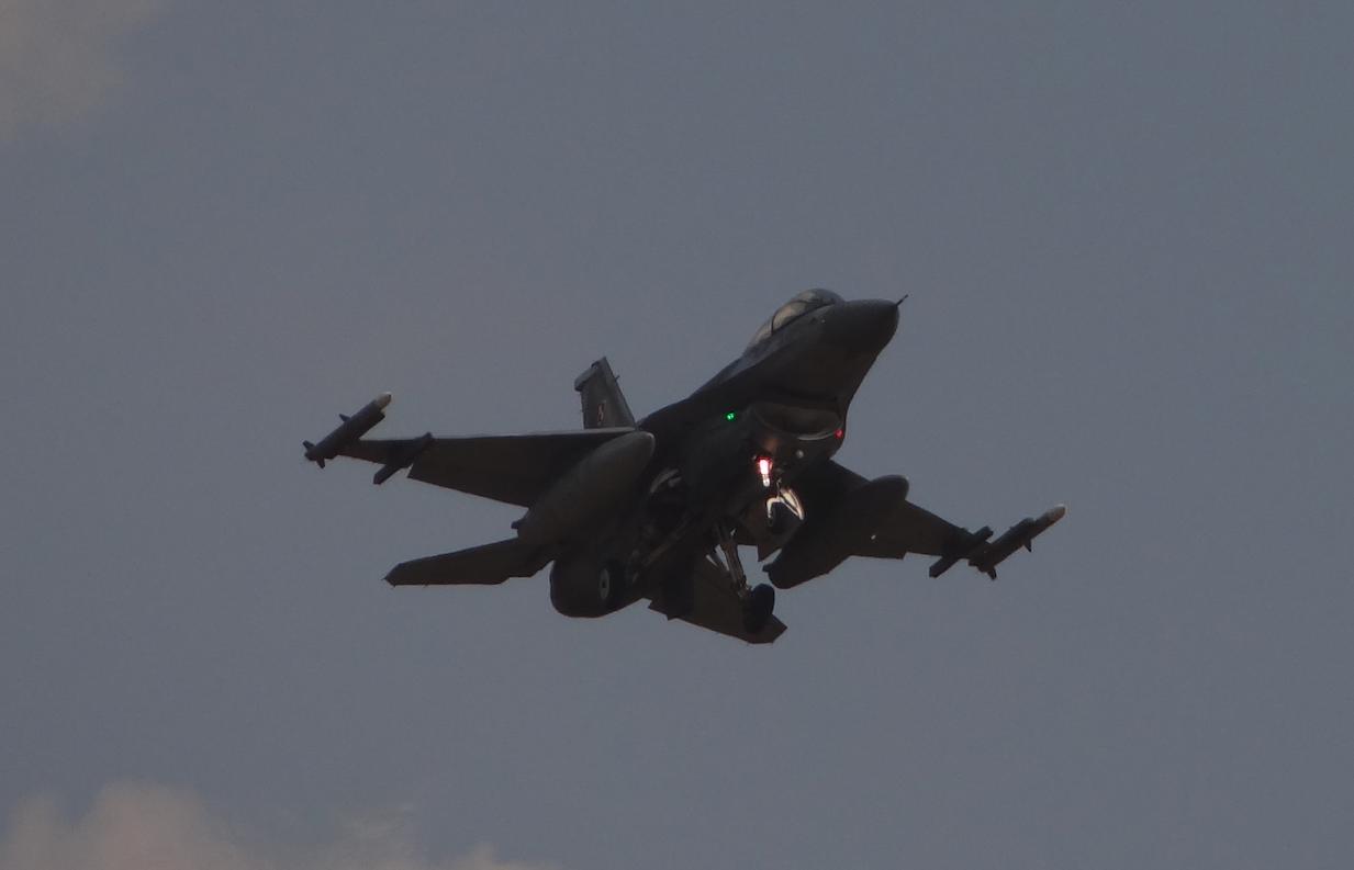 F-16 Jastrząb. 2019 year. Zdjęcie Karol Placha Hetman