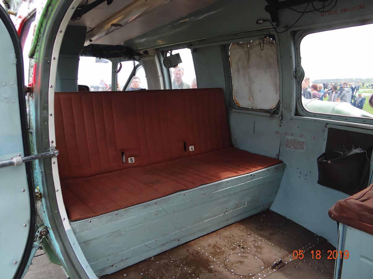 Mi-2 kabina. 2019 rok. Zdjęcie Karol Placha Hetman