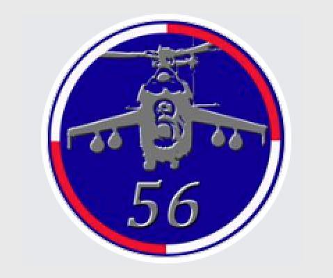 Godło 56. Bazy Lotniczej w Inowrocławiu