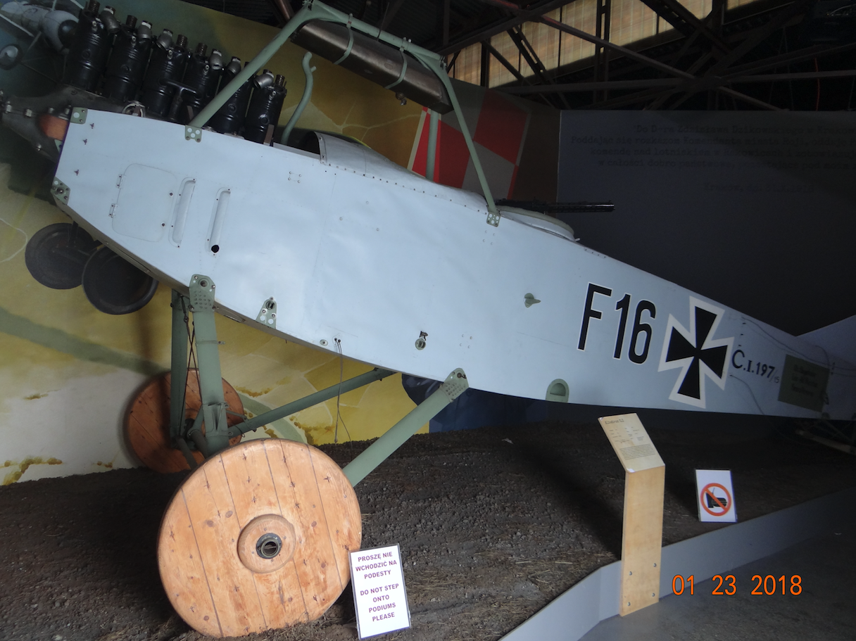 Albatross C.I. Such planes were used by the 1st Intelligence Squadron. Photo by Karol Placha Hetman