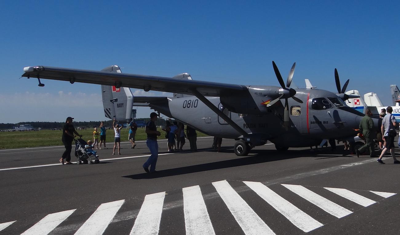 PZL M-28 Bryza bis nb 0810 z radarem. 2014 rok. Zdjęcie Karol Placha Hetman