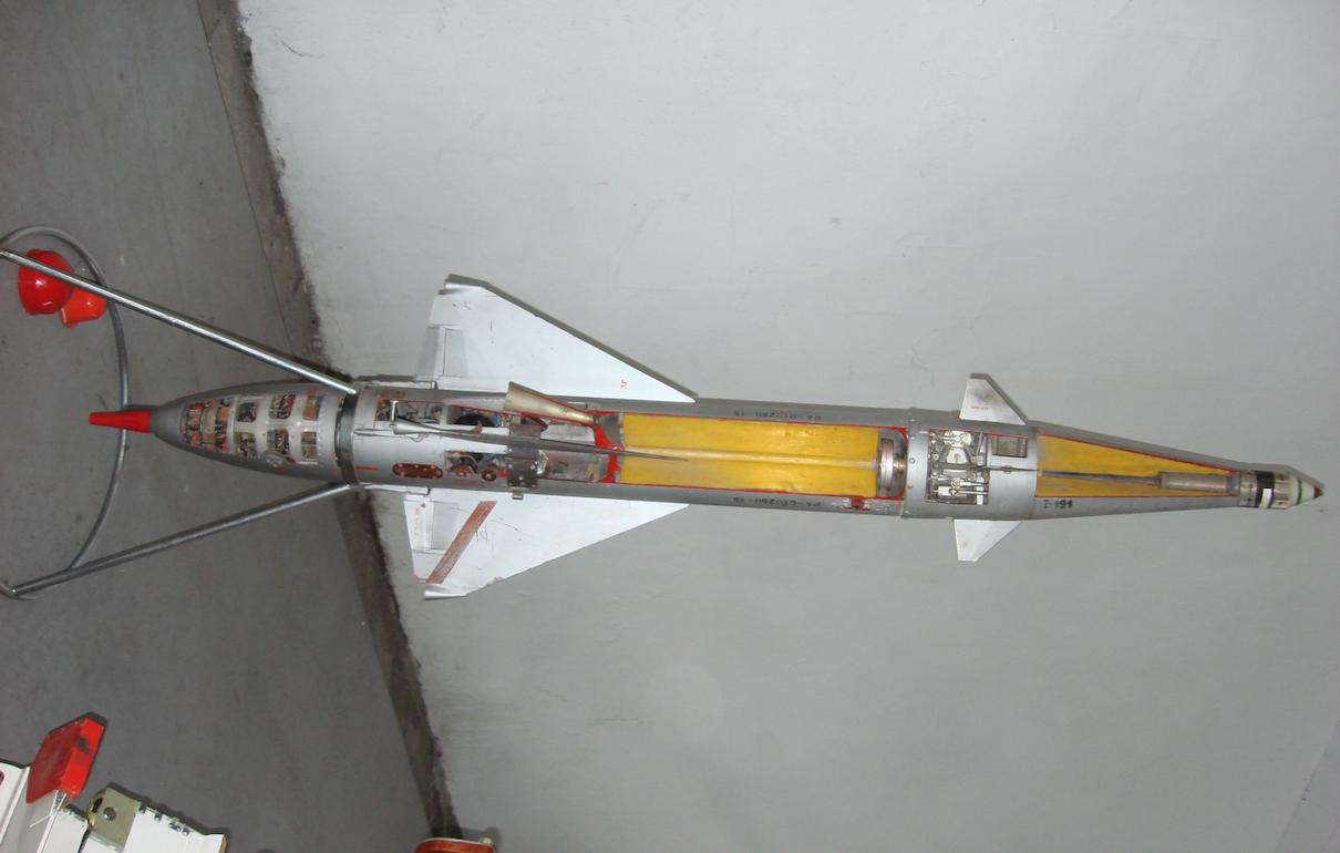 Szkolny pocisk rakietowy RS-2US. 2007 rok. Zdjęcie Karol Placha Hetman