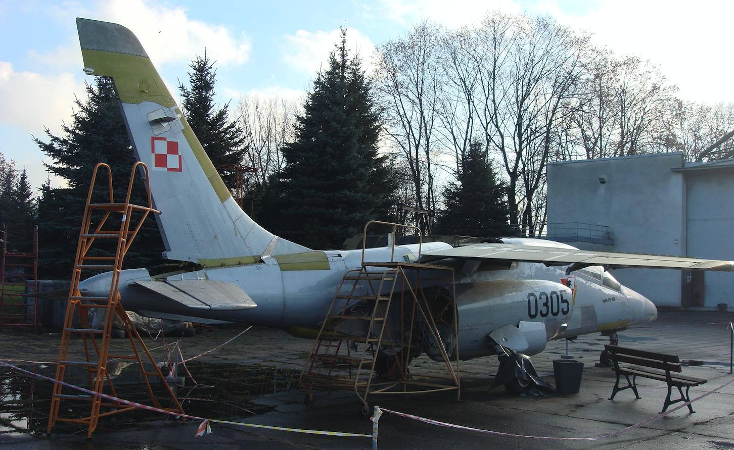 PZL I-22 Iryda nb 0305. Kraków 2009 rok. Zdjęcie Karol Placha Hetman